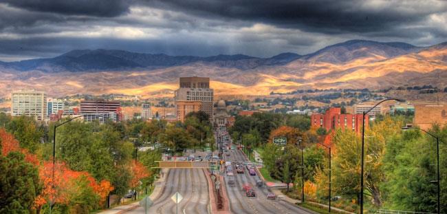 Boise Idaho - Downtown