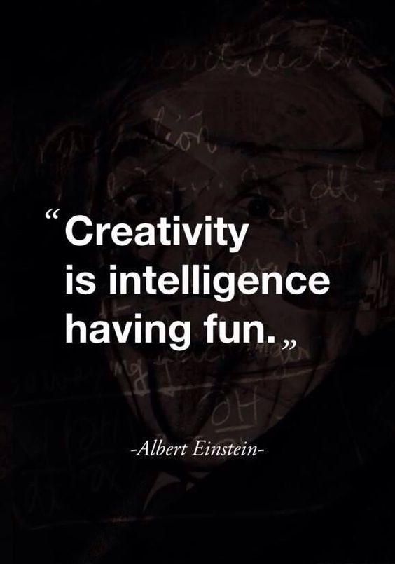 Creativity is inelegance having fun
