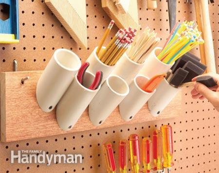 PVC storage solutions