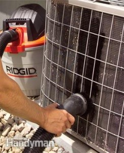 clean your condenser step2