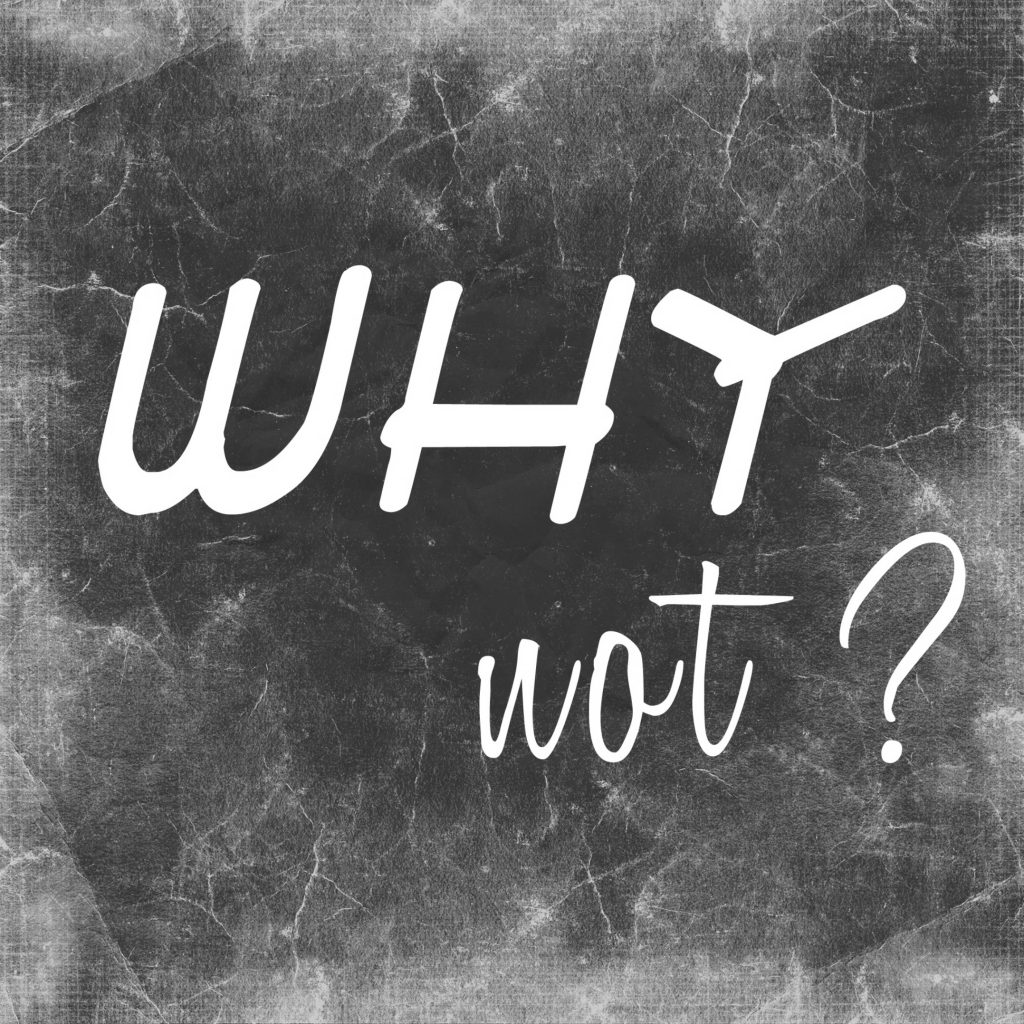 Why Not? - Inspirational Image