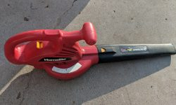 Homelite electric leaf blower