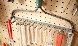 Tool Tip - garden rake tool hanger
